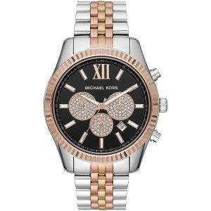 Michael Kors Lexington MK8714 Diamond Accents Reloj de cuarzo para hombre