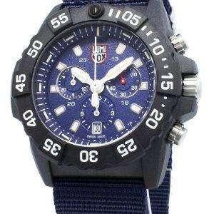 Luminox Navy Seal XS.3583.ND Cronógrafo Quartz 200M Reloj para hombre