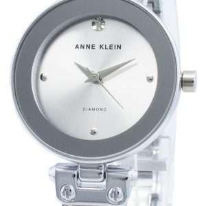 Anne Klein 1981LGSV Reloj de cuarzo para mujer