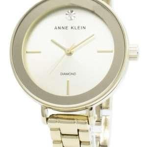Anne Klein 3386CHGB Reloj de cuarzo para mujer
