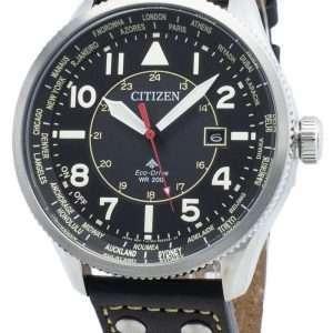 Reloj Citizen Promaster Nighthawk BX1010-02E World Time Eco-Drive 200M para hombre