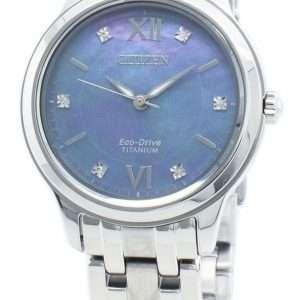 Reloj Citizen Eco-Drive EM0720-85N Diamond Acentos para mujer