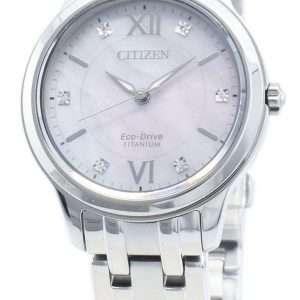 Reloj Citizen Eco-Drive EM0720-85Y Diamond Acentos para mujer