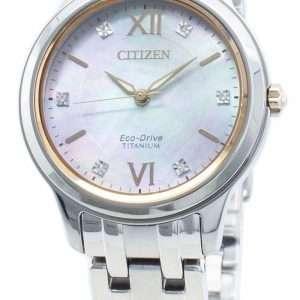 Reloj Citizen Eco-Drive EM0726-89Y Diamond Acentos para mujer