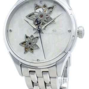 Hamilton Jazzmaster H32115192 Diamond Acentos Reloj automático para mujer