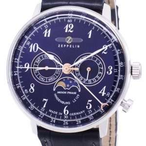 Reloj para hombre Zeppelin Series LZ 129 Hindenburg Germany Made 7036-3 70363