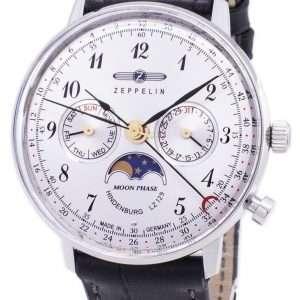 Reloj para hombre Zeppelin Series LZ 129 Hindenburg Germany Made 7037-1 70371