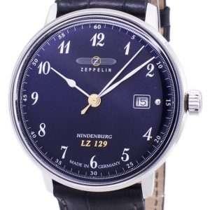 Reloj de hombre Zeppelin Series LZ 129 Hindenburg Germany Made 7046-3 70463