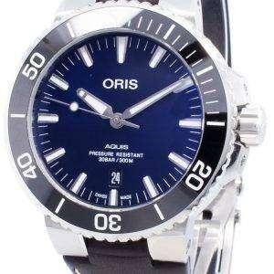Oris Aquis Fecha 01733 7730 4135-07 5 24 10EB 01-733-7730-4135-07-5-24-10EB Reloj automático para hombres 300M