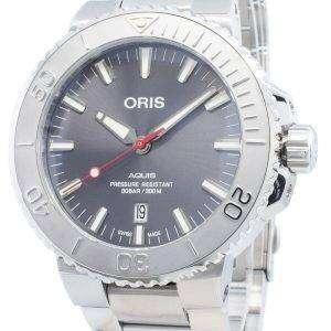 Oris Aquis Fecha 01733 7730 4153-07 8 24 05PEB 01-733-7730-4153-07-8-24-05PEB Reloj automático para hombres 300M