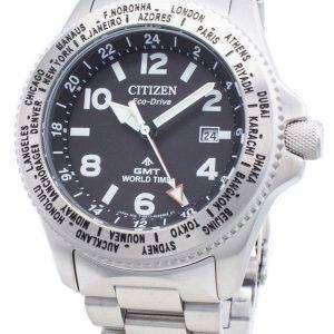 Reloj Citizen PROMASTER Eco-Drive BJ7100-82E World Time 200M para hombre