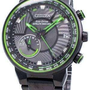 Citizen Eco-Drive Satellite Wave GPS CC3075-80E Reloj mundial para hombre