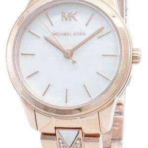 Michael Kors Runway MK6674 Reloj de cuarzo con detalles de diamantes para mujer