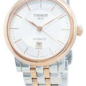 Tissot T-Classic Carson Premium T122.207.22.031.01 T1222072203101 Reloj automático para mujer