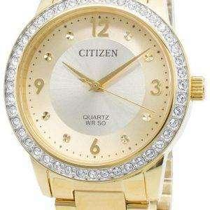 Reloj Citizen EL3092-86P Diamond Acentos de cuarzo para mujer