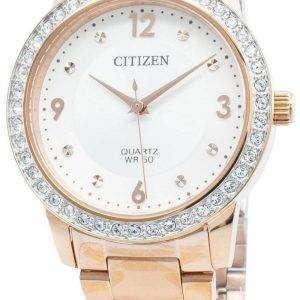 Reloj Citizen EL3093-83A Diamond Acentos de cuarzo para mujer