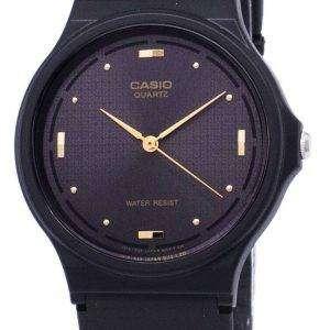 Reloj de Casio cuarzo Enticer analógico Dial negro MQ-76-1ALDF MQ-76-1AL hombres