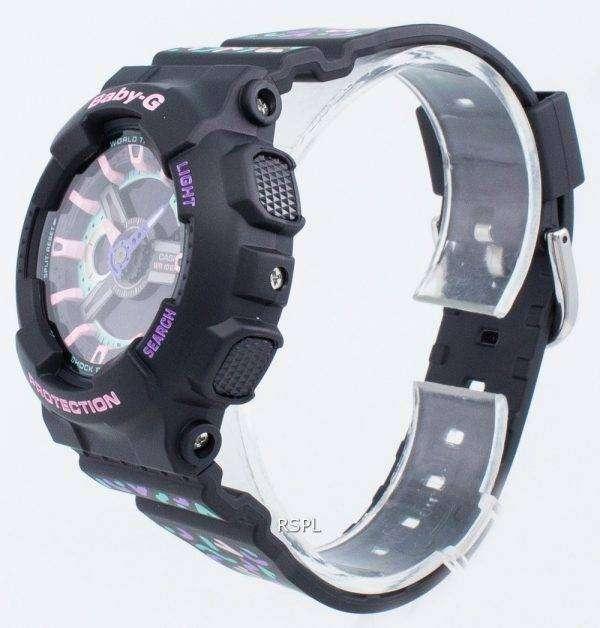 Casio BABY-G BA-110TH-1A Reloj de cuarzo resistente a los golpes para mujer
