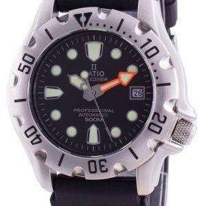 Ratio Free Diver Professional 500M Sapphire Automatic 32BJ202A-BLK Reloj para hombre