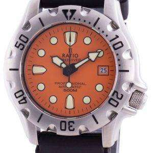 Ratio Free Diver Professional 500M Sapphire Automatic 32BJ202A-ORG Reloj para hombre