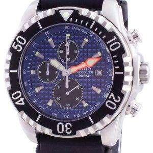 Ratio 200m Diver Quartz Chronograph Sapphire 48HA90-17 + CHR-BLU Reloj para hombre