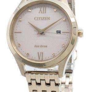 Reloj Citizen Eco-Drive EW2533-89X Diamond Acentos para mujer