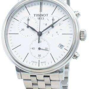 Tissot Carson Premium T122.417.11.011.00 T1224171101100 Reloj cronógrafo de cuarzo para hombre