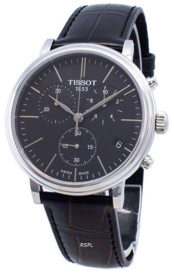 Tissot Carson Premium T122.417.16.051.00 T1224171605100 Reloj cronógrafo de cuarzo para hombre