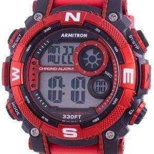 Armitron Sport 408284RDBK reloj de cuarzo con brújula para hombre