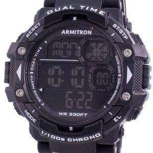 Reloj Armitron Sport 408309BLK Quartz Dual Time para hombre