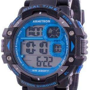 Reloj de hombre Armitron Sport 408309BLU Quartz Dual Time