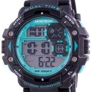 Reloj para hombre Armitron Sport 408309BTL Quartz Dual Time
