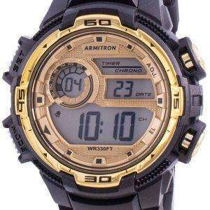 Reloj de hombre de cuarzo Armitron Sport 408347BKGD