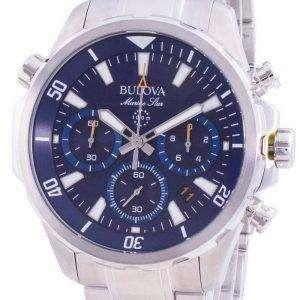 Bulova Marine Star 96B256 Reloj cronógrafo de cuarzo para hombre
