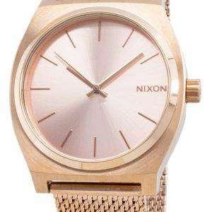Nixon The Time Teller Milanese A1187-897-00 Reloj de cuarzo para mujer