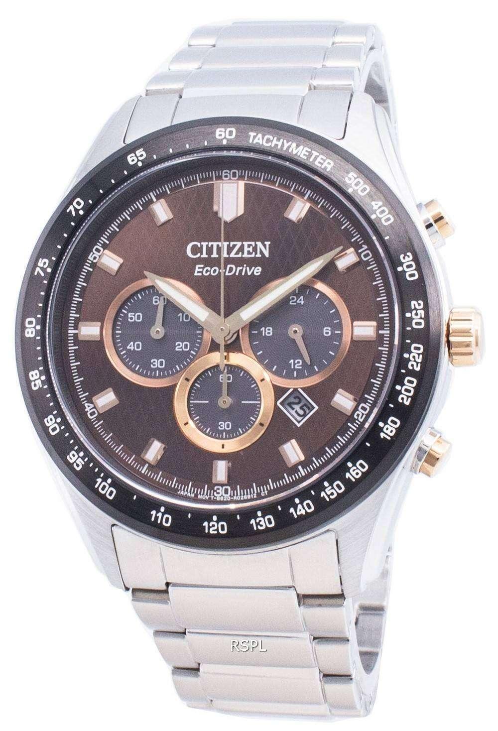 Reloj Citizen Eco-Drive CA4456-83X Taquímetro para hombre