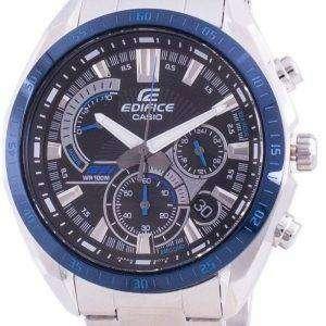 Casio Edifice EFR-570DB-1BV Reloj cronógrafo de cuarzo para hombre