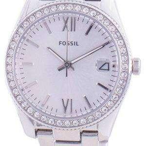 Fossil Scarlette ES4317 Reloj de mujer con detalles de diamantes de cuarzo
