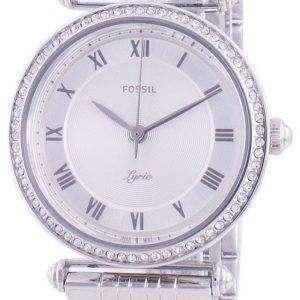 Fossil Lyric ES4712 Reloj de mujer con detalles de diamantes de cuarzo