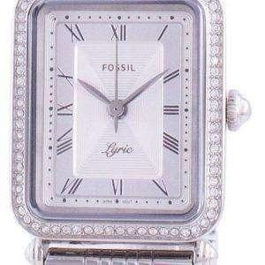 Fossil Lyric ES4721 Reloj de mujer con detalles de diamantes de cuarzo