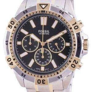 Fossil Garrett FS5622 Reloj cronógrafo de cuarzo para hombre