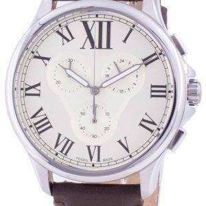Fossil Monty FS5638 Reloj cronógrafo de cuarzo para hombre