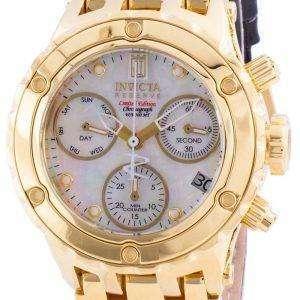 Invicta Jason Taylor 30488 Cronógrafo de cuarzo Edición limitada 500M Reloj para mujer