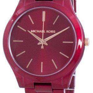 Reloj unisex de cuarzo Michael Kors Slim Runway MK3895