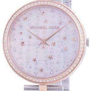 Michael Kors Maci MK4452 Reloj de mujer con detalles de diamantes de cuarzo