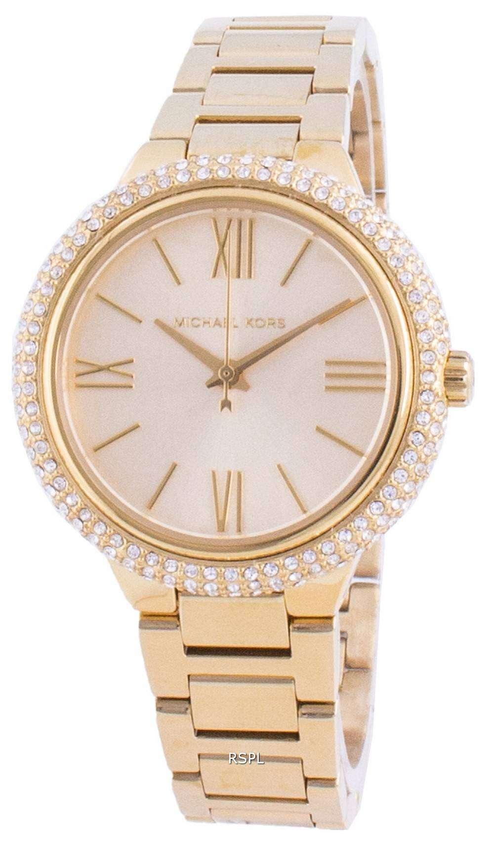 Michael Kors Taryn MK4459 Reloj de mujer con detalles de diamantes de cuarzo