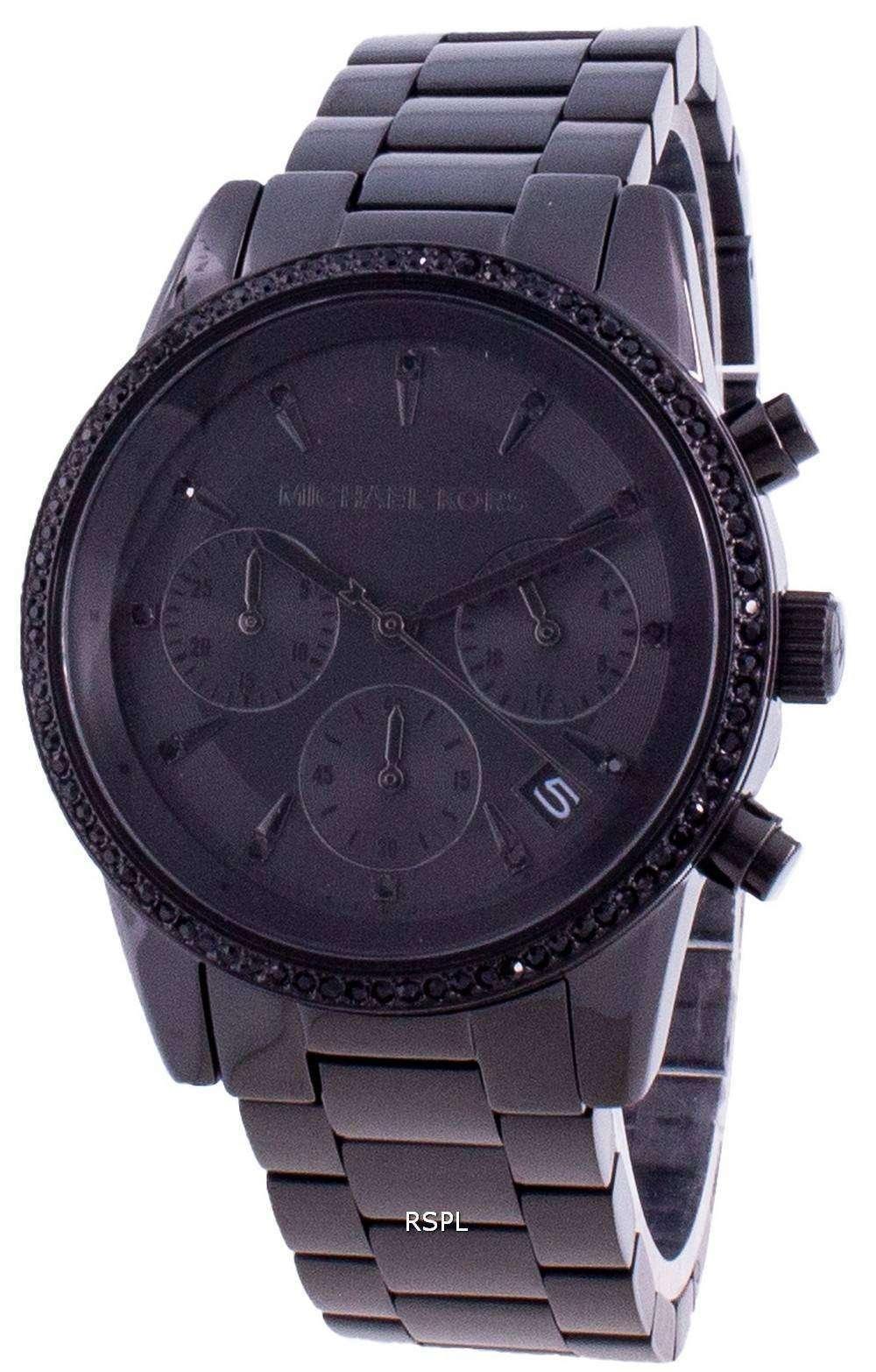 Michael Kors Ritz MK6725 Reloj de mujer con detalles de diamantes de cuarzo
