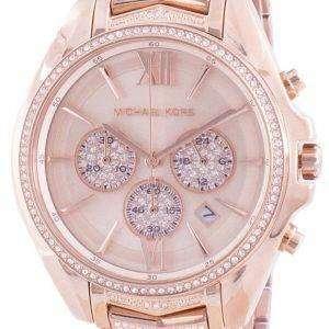 Michael Kors Whitney MK6730 Reloj de mujer con detalles de diamantes de cuarzo