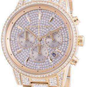 Michael Kors Ritz MK6747 Reloj de mujer con detalles de diamantes de cuarzo