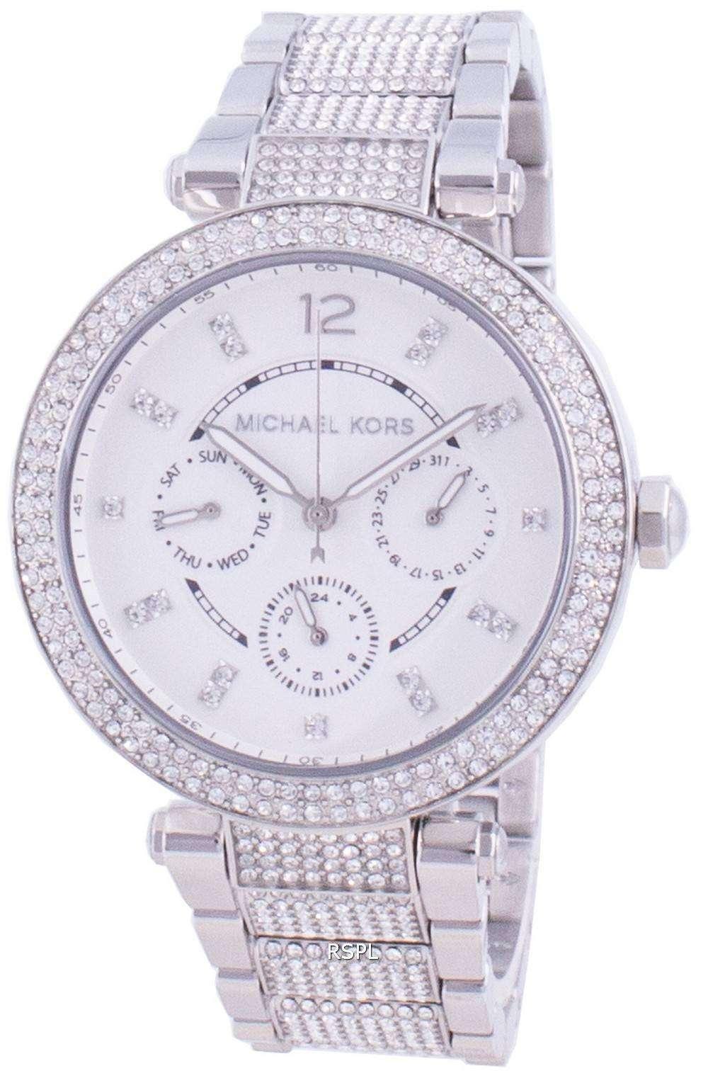 Michael Kors Parker MK6759 Reloj de mujer con detalles de diamantes de cuarzo